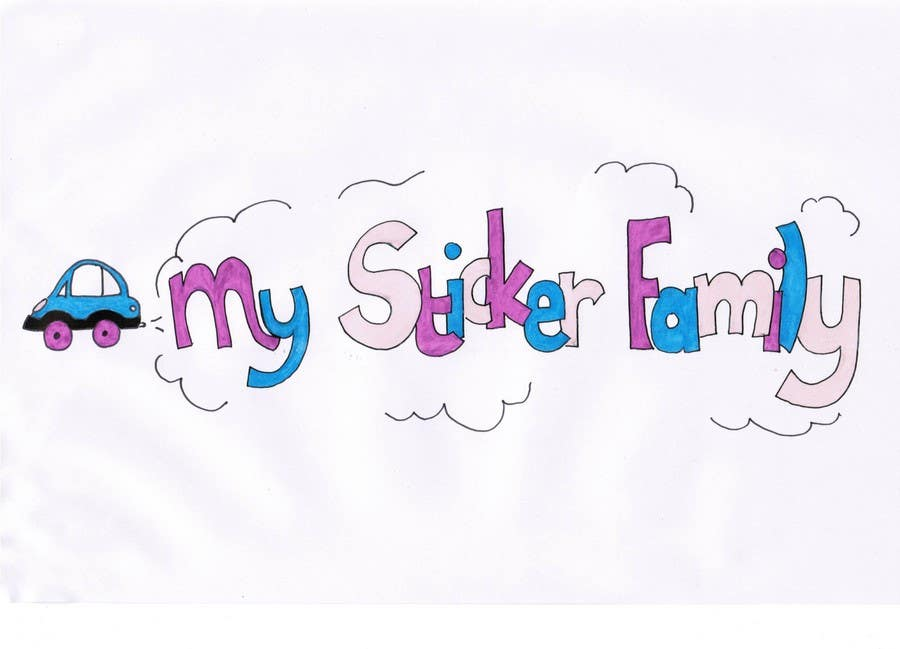 Bài tham dự cuộc thi #                                        26                                      cho                                         Logo & Sticker design x 50  for Family Sticker Concept for new market