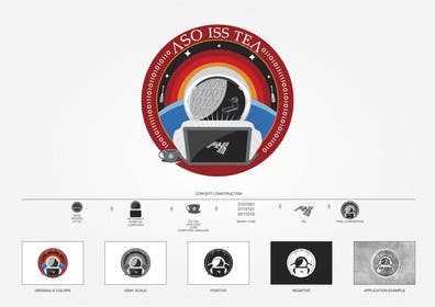 #242 for NASA Challenge: ASO ISS-TEA Project Graphic/Patch Design by rafaelffontes