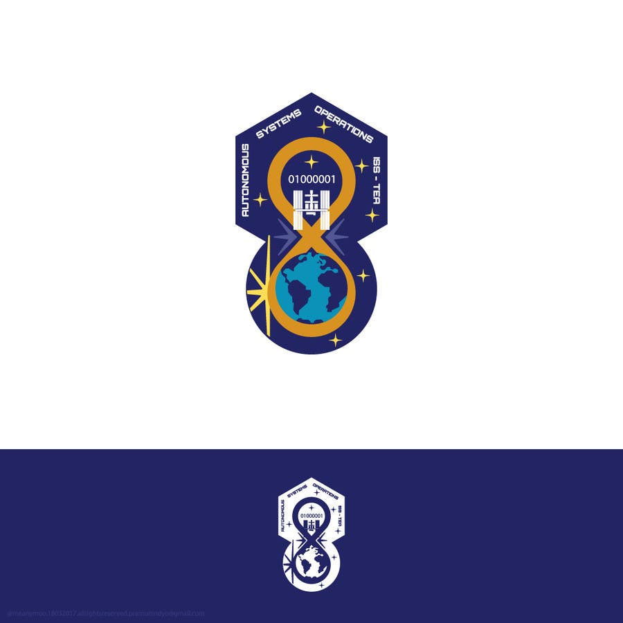#285 for NASA Challenge: ASO ISS-TEA Project Graphic/Patch Design by Apramunindyo