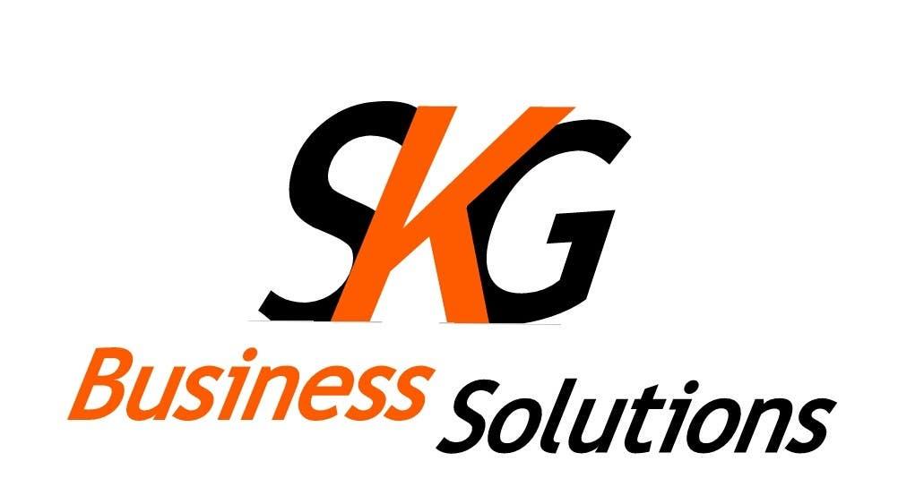 entry 196 by jacksage for design a logo for skg business solutions