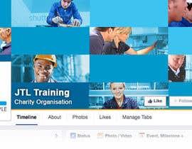 #96 untuk JTL - Design our cover photos - GUARANTEED oleh Base73