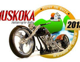 #66 pentru Logo Design for Muskoka Motorcycle Rally de către websansar1
