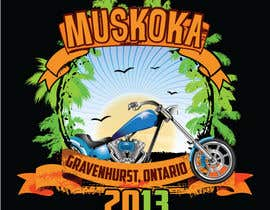 #10 pentru Logo Design for Muskoka Motorcycle Rally de către OliveDesigns