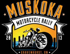 #42 para Logo Design for Muskoka Motorcycle Rally por KVdesigns