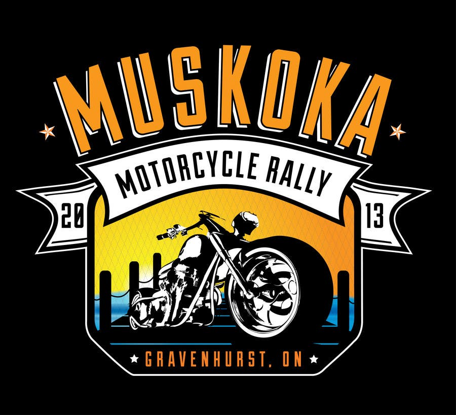 #59 for Logo Design for Muskoka Motorcycle Rally by KVdesigns