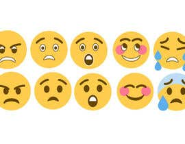 #6 para Recreate old MSN messenger emoticons in Twemoji style. por kikadesignstudio