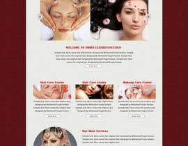 poujulameen tarafından Create website Layout for my Beauty Center için no 14
