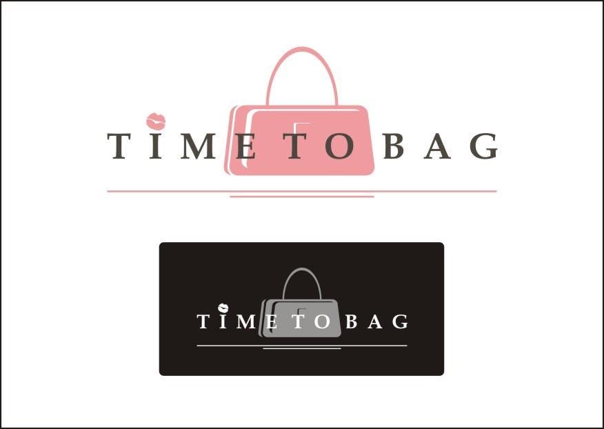 Kilpailutyö #115 kilpailussa Logo Design for TIME TO BAG