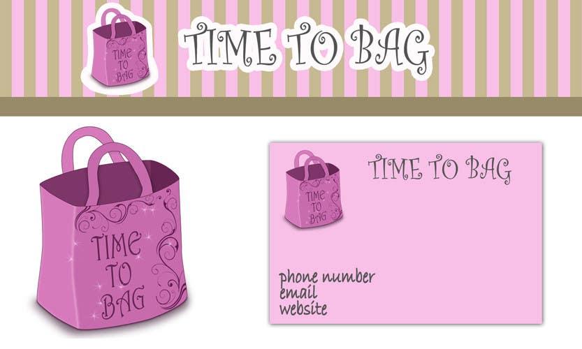 Kilpailutyö #39 kilpailussa Logo Design for TIME TO BAG