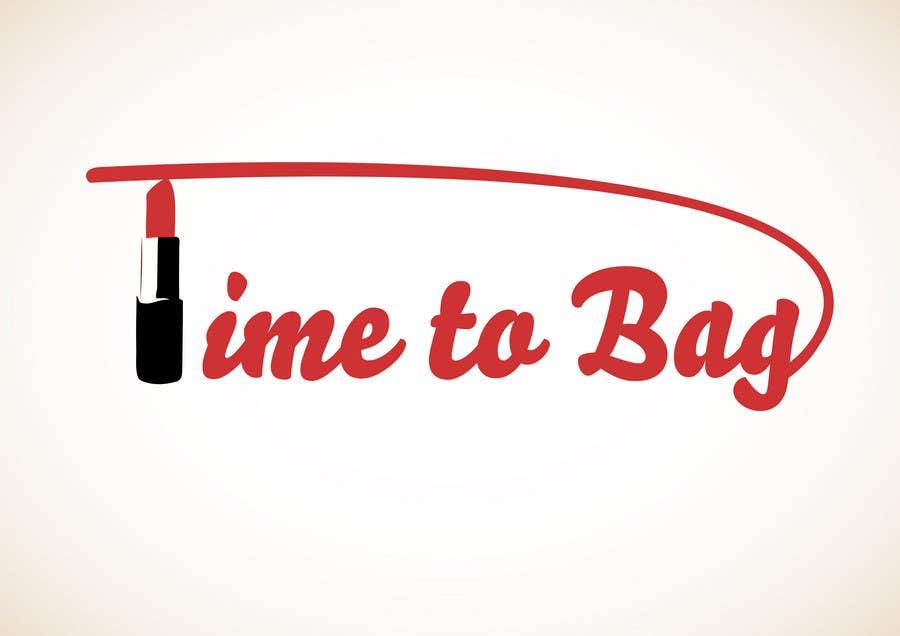 Kilpailutyö #226 kilpailussa Logo Design for TIME TO BAG