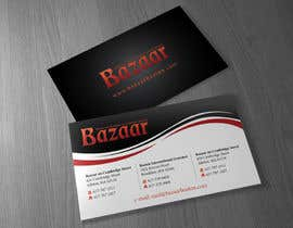 #8 para Business Card Design for Bazaar por Brandwar