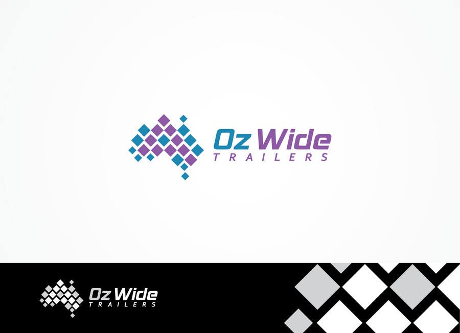 Inscrição nº                                         56                                      do Concurso para                                         Logo Design for Oz Wide Trailers