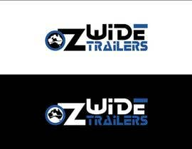 #44 para Logo Design for Oz Wide Trailers por kalashaili