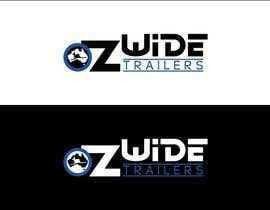 #41 para Logo Design for Oz Wide Trailers por kalashaili