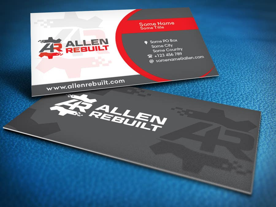 design logo and business card for machine shop - Business Card Machine
