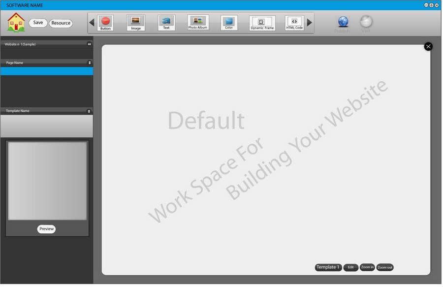 Inscrição nº                                         26                                      do Concurso para                                         User Interface design for Website Builder Software