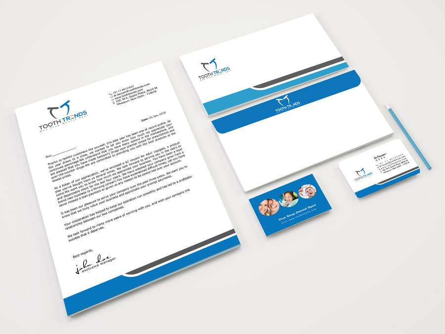 Entry 150 by classicaldesigns for creative business card and contest entry 150 for creative business card and letterhead design required for an orthodontist reheart Choice Image