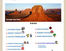 #2 for Internal GIS Website Homepage Design for City of White Rock by JuanDesign1