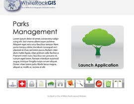 nº 10 pour Internal GIS Website Homepage Design for City of White Rock par AlexandraEdits
