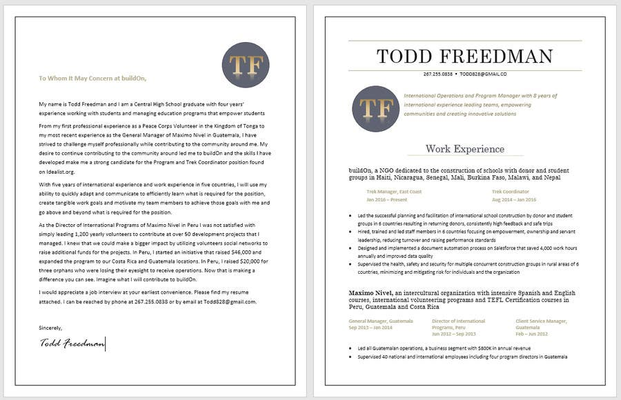 make my resume stand out