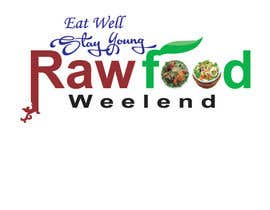 #35 for Design a Logo for Raw Food Weekend af shifathussain