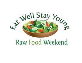#36 for Design a Logo for Raw Food Weekend af adrif73