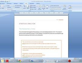 #31 for Word Document Template af Floralfs