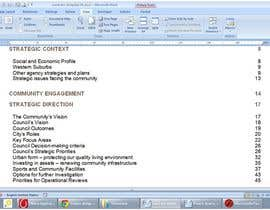#32 for Word Document Template af Floralfs
