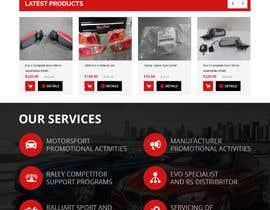 #7 for Motorsport psd for Wordpress by yasirmehmood490