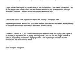 #4 para Rewrite a letter de LiesaJossel