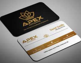 #31 para Design Business Cards for Apex Artisans de smartghart