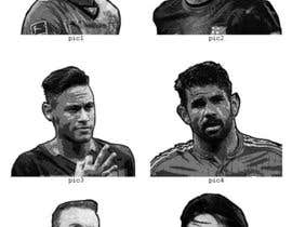 #6 para Required awesome monochrome graphics of 12 football players that fans will fall in love de Valadar