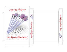 #5 para Package design for makeup brush de anetapopovva