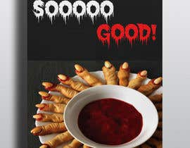 "#13 para Large 3' x 4' poster for a zombie fast food restaurant of a box of ""severed fingers"" de sumonhosen888"
