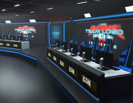 #4 for eSports Stage Studio Design av AlexAugustine