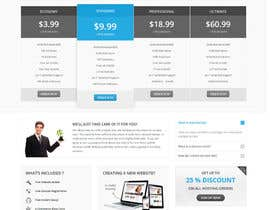 #9 for Design an IT/hosting company homepage in Visual Composer (WordPress) by mstsalma7
