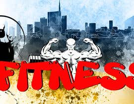 #22 for Design a fitness wall mural by naveen14198600