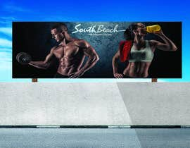 #4 for Design a fitness wall mural by midoelprince74