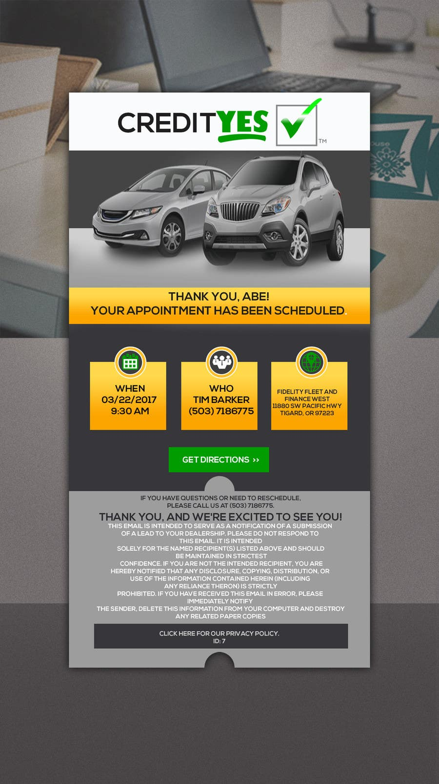 Entry #18 by juthi19972 for Appointment Email Template | Freelancer