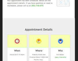 #15 for Appointment Email Template by cmogusu