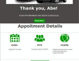 #23 for Appointment Email Template by adnanbahrian