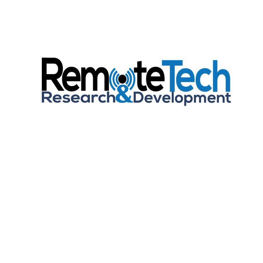 Inscrição nº 196 do Concurso para LOGO REMOTE TECH - Research and Development
