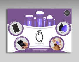 #9 for Print and Packaging Designs for Cosmetic box with brushes by merybaez