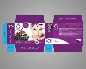 #2 for Print and Packaging Designs for Cosmetic box with brushes by Dreamfocus