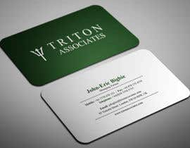 #9 for Typeset Business Cards by smartghart
