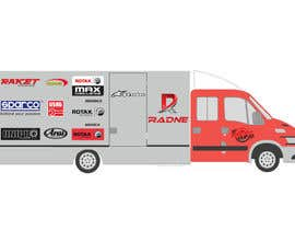 #112 for Design Transport Van with logos by graphiceager