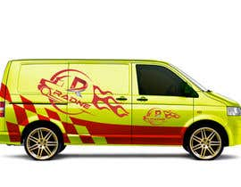 #97 for Design Transport Van with logos by Minhazcoxs
