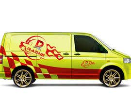 #102 for Design Transport Van with logos by Minhazcoxs