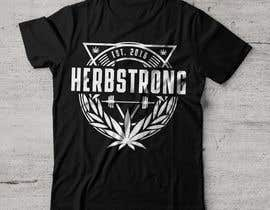 "#68 for Design a T-Shirt Using ""Herbstrong"" by karlparan"