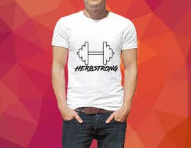 "#61 for Design a T-Shirt Using ""Herbstrong"" by sumonhasan110"